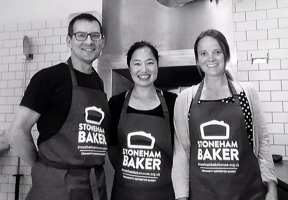 bakehouse volunteers Fran Pearl Rob