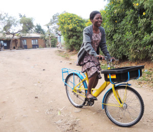 elephant bike Malawi